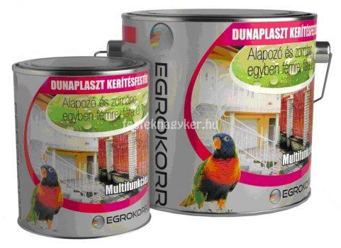Dunaplast kerítésfesték grafit bordó 2,5l