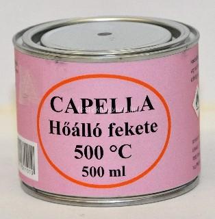Capella hőálló fekete 0,5l 500°C