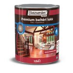 Lazurán aqua magasfényű prémium lakk beltérre 0,75 l