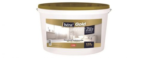 Héra Gold Fehér beltéri falfesték 4l /extra fehér/