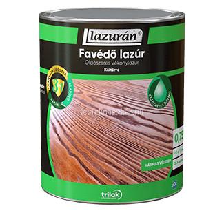 Lazurán favédő lazúr 3in1 oldószeres borovifenyő 0,75L