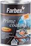 Farbex Prime Coating Korróziógátló Alapozó  Szürke 0,9kg