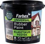 Farbex Rubber Paint elasztikus festék vörösesbarna 1,2kg