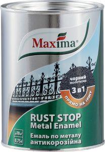 Maxima Rust Rozsda Stop kalapácslakk 3in1 bordó 0,75l
