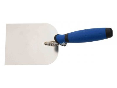 Pg gipszelő kanál rozsdamentes 80mm