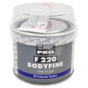 Body 220 Fine finomkitt 1kg