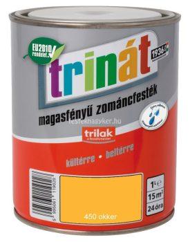 Trinát magasfényű zománcfesték 450 okker 1L