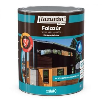 Lazurán aqua vékonylazúr 2in1 paliszander 2,5l