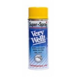 Motip very well spray napsárga RAL 1021