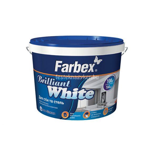"Farbex ""Brillant white"" beltéri diszperzit festék - 10L"
