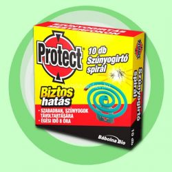 Protect-B szúnyogírtó spirál