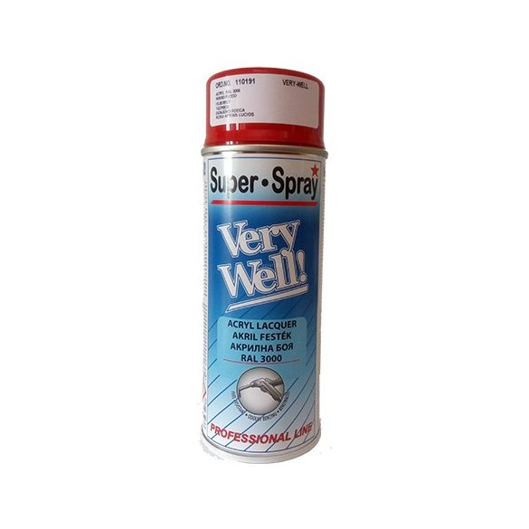 Motip very well spray piros RAL3002