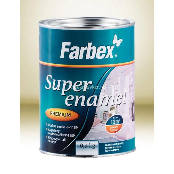 Farbex Super Enamel Zománcfesték ezüst 0,9kg