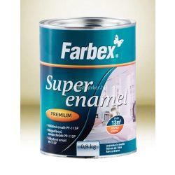 Farbex Super Enamel magasfényű zománc fehér 2,8kg