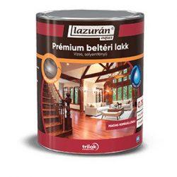 Lazurán aqua selyemfényű prémium lakk beltérre 0,75 l