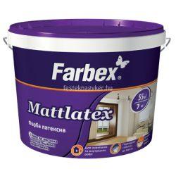 """Farbex """"Mattlatex"""" kültéri homlokzatfesték- 5L"""