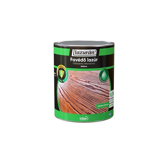 Lazurán favédő lazúr 3in1 oldószeres mogyoró 0,75L