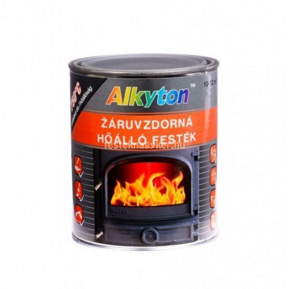 Alkyton hőálló fekete festék 0,75l