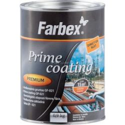 Farbex Prime Coating Korróziógátló Alapozó  Vörösesbarna 0,9kg
