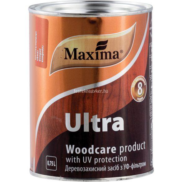 Maxima Ultra oldószeres vastaglazúr teak 0,75l