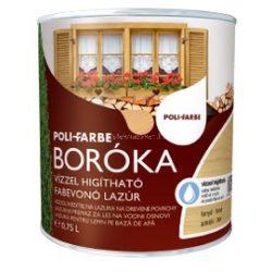 Boróka lazúr mahagóni 0,75l