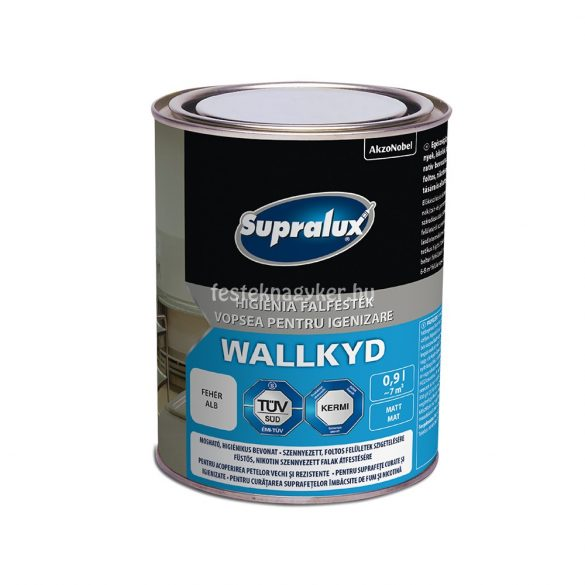 Supralux Wallkyd higiéniai falfesték 0,9l