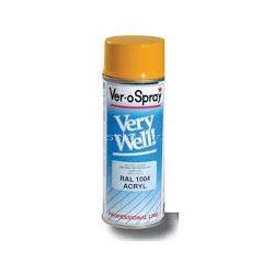 Motip very well spray aranysárga RAL 1004