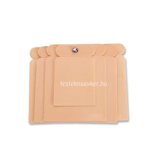 Spatulya műanyag 4db-os