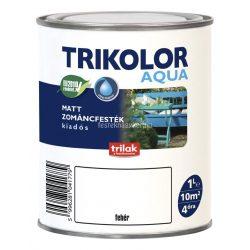 Trikolor aqua matt zománcfesték fehér 1l