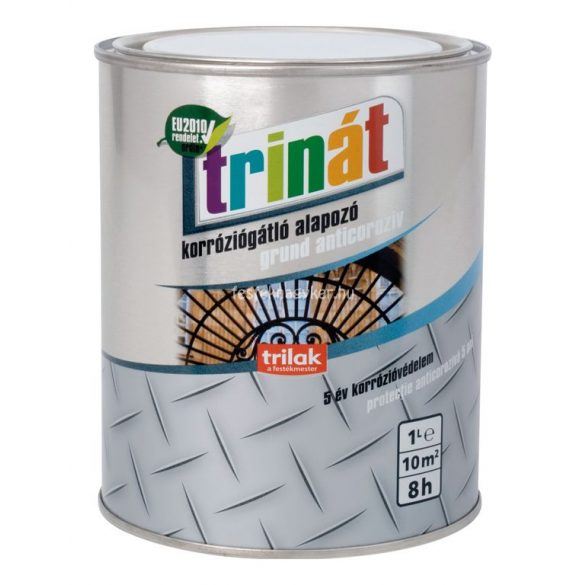 Trinát korróziógátló alapozó 100 fehér 1l