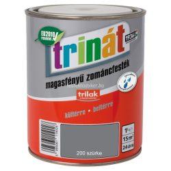 Trinát magasfényű zománcfesték 200 szürke 0,25 L
