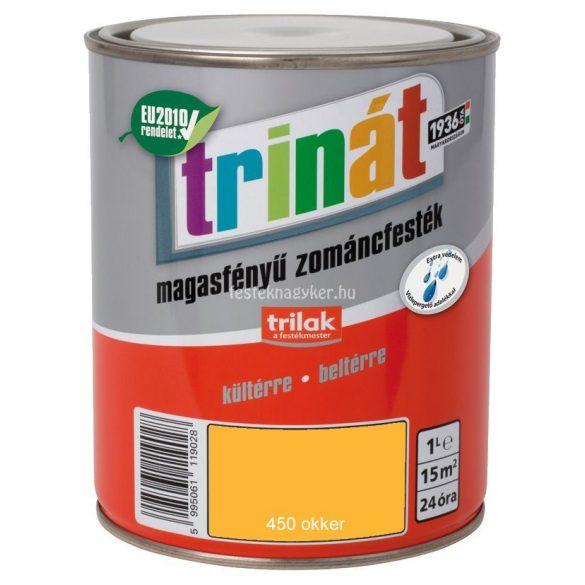 Trinát magasfényű zománcfesték 450 okker 0,5L