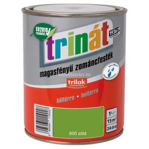 Trinát magasfényű zománcfesték 600 zöld 0,25L
