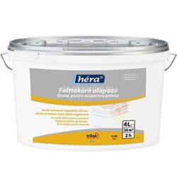 Héra folttakaró alapozó fehér 4L /füst,beázás esetén/
