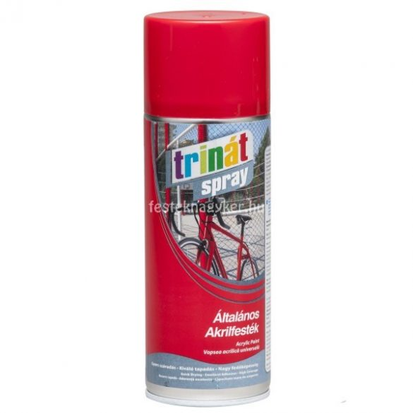 Trinát Spray RAL9005 matt fekete 400ml