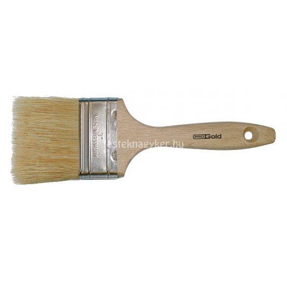 "Progold festőecset fa nyelű dupla 2,5"""