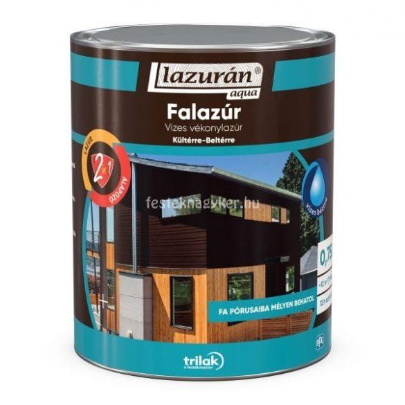 Lazurán aqua vékonylazúr 2in1 paliszander 0,75l