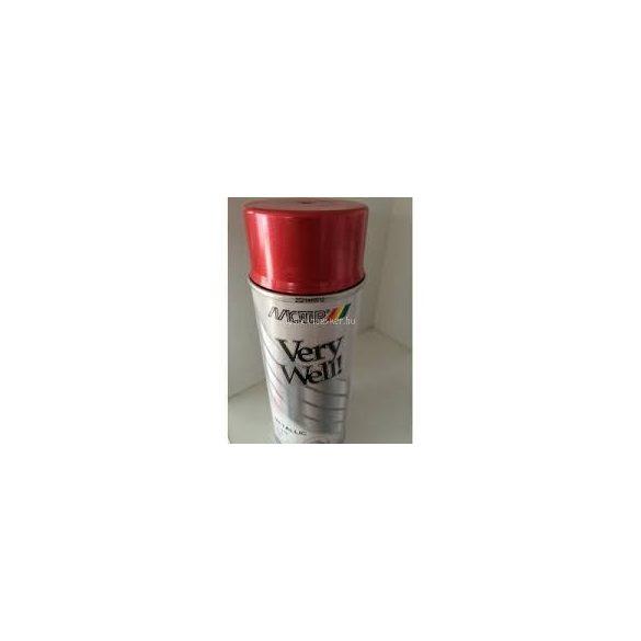 Motip very well metál piros spray 400ml